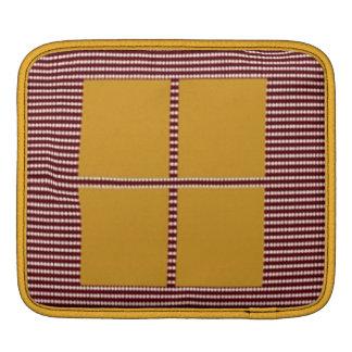 Theme Four Square - Satin Silk Sleek Designs Sleeve For iPads