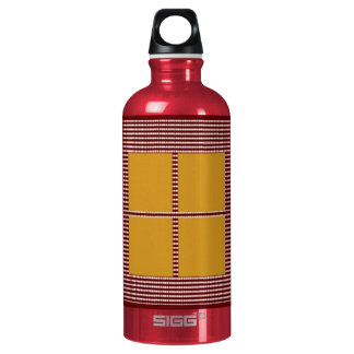 Theme Four Square - Satin Silk Sleek Designs Water Bottle