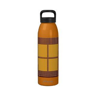 Theme Four Square - Satin Silk Sleek Designs Drinking Bottle