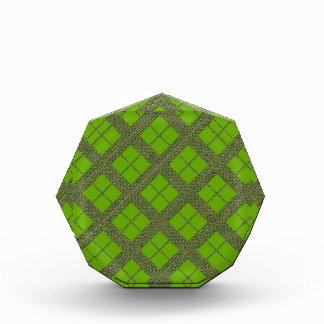 Theme GREEN Shades : Diamond Windows Acrylic Award