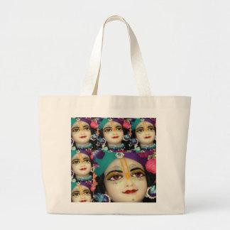 Theme KRISHNA Devotion Chant n Meditate Canvas Bag