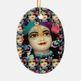 Theme : KRISHNA Devotion Chant n Meditate Christmas Ornament
