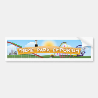 Theme Park Emporium Bumper Stickers