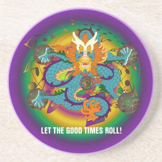 Theme Party fraternity Sandstone Coaster