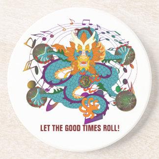 Theme Party Mardi Gras Sandstone Coaster