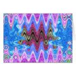 Theme Purple Wave Cards