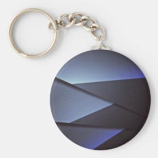 Themed Basic Round Button Keychain