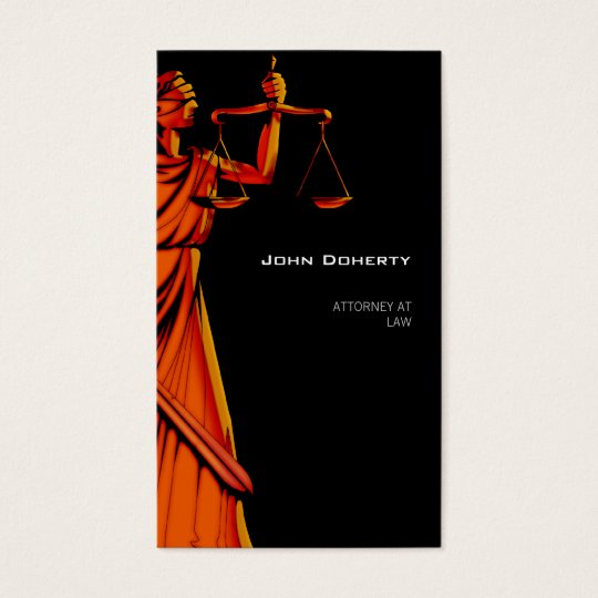 Themis | Modern Attorney At Law Business Card