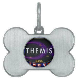 THEMIS PET NAME TAG