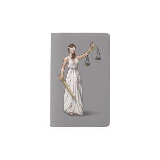 Themis - Titanium Pocket Moleskine Notebook