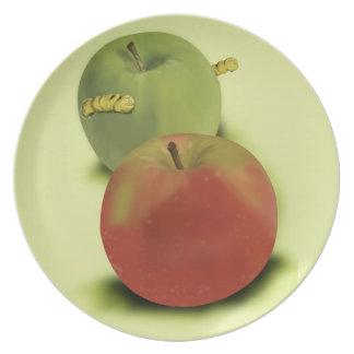 Them's Apples Melamine Plate