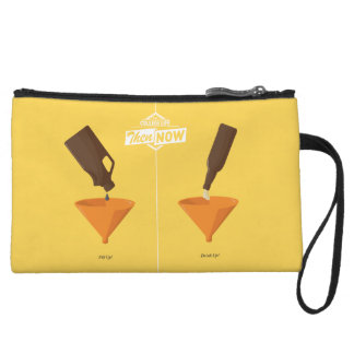 Then And Now: Beer Pong Wristlet Wallet