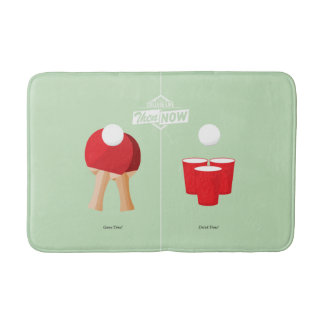 Then And Now: Ping Pong Bathroom Mat