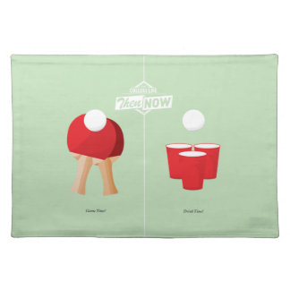 Then And Now: Ping Pong Cloth Placemat