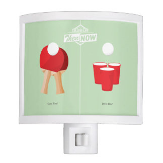 Then And Now: Ping Pong Night Light