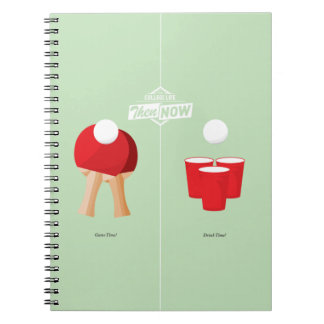 Then And Now: Ping Pong Notebook