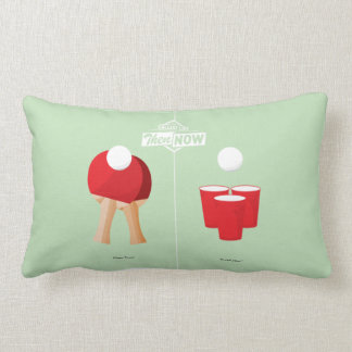 Then And Now: Ping Pong Pillow