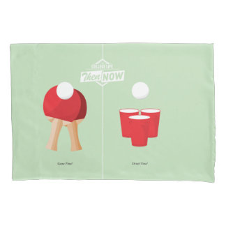 Then And Now: Ping Pong Pillow Case
