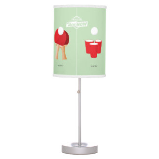 Then And Now: Ping Pong Table Lamp