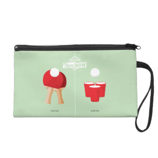 Then And Now: Ping Pong Wristlet