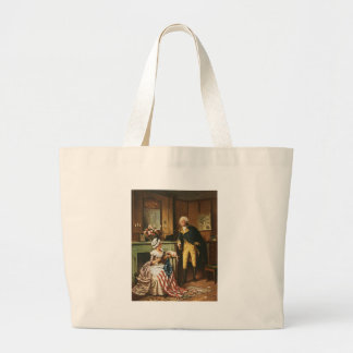 Then Now and Forever by Percy Moran Jumbo Tote Bag