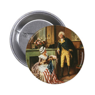 Then Now and Forever by Percy Moran 2 Inch Round Button