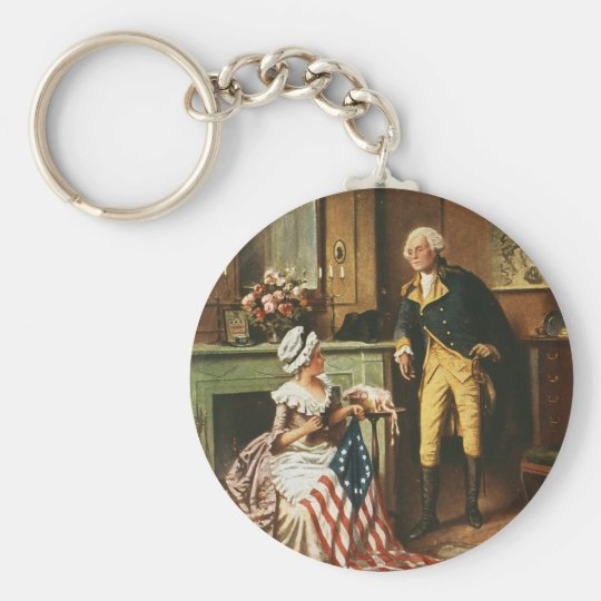 Then Now and Forever by Percy Moran Keychain
