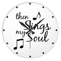 Then Sings my Soul Wall Clock