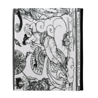 'Then The Queen of the Air Fluttered into The Room iPad Folio Covers