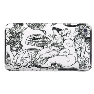 'Then The Queen of the Air Fluttered into The Room iPod Case-Mate Cases