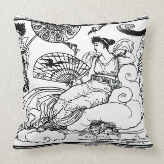 'Then The Queen of the Air Fluttered into The Room Pillows