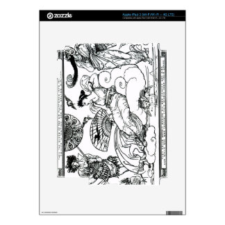 'Then The Queen of the Air Fluttered into The Room iPad 3 Skin