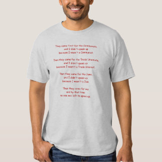 Then They Came for Me T Shirt