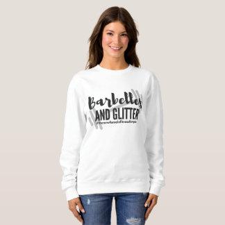 '#thenewfemalefitnessfempire' Basic Sweatshirt
