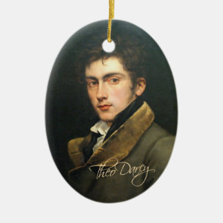 Theo Darcy ornament (one-sided)