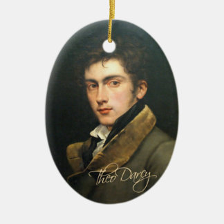 Theo Darcy Ornament (two sided)