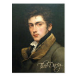 Theo Darcy postcard
