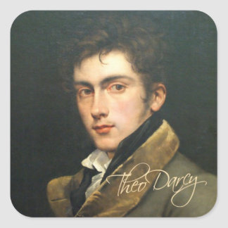 Theo Darcy Sticker