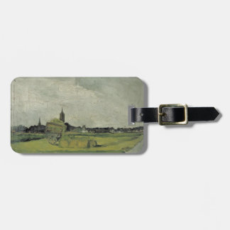 Theo Doesburg-Landscape,hay cart,church towers Tags For Luggage
