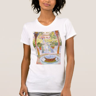 Theo Rysselberghe- The Gardens of Generalife T-shirts