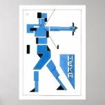 Theo van Doesburg Archer de Stijl Poster