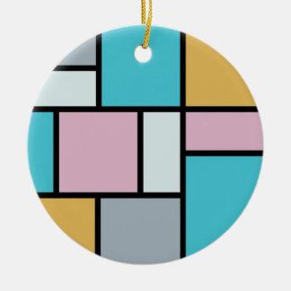 Theo van Doesburg - composición XVII Adorno De Navidad