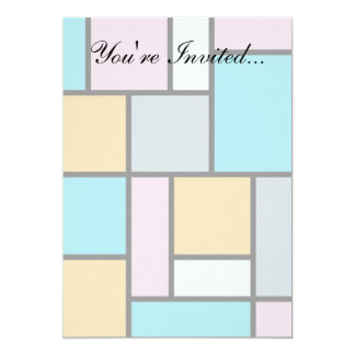 Theo Van Doesburg - Composition 17 - Mondrian Art Card