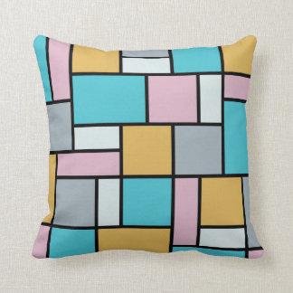 Theo Van Doesburg - Composition XVII Throw Pillows