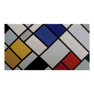 Theo van Doesburg Contra-Composition XVI Poster