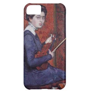 Theo van Rysselberghe- Woman con el violín