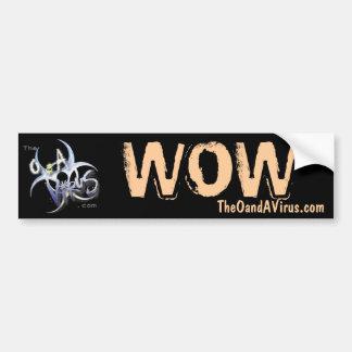 TheOandAVirus.com Custom Wow Sticker