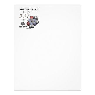 Theobromine Chocolate Molecule Active Ingredient Letterhead