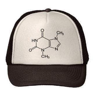 Theobromine Chocolate Molecule Trucker Hat