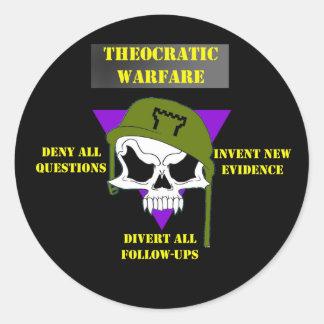 Theocratic Warfare Sticker